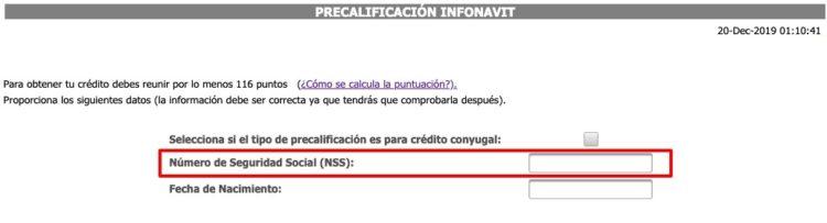 Infonavit NSS