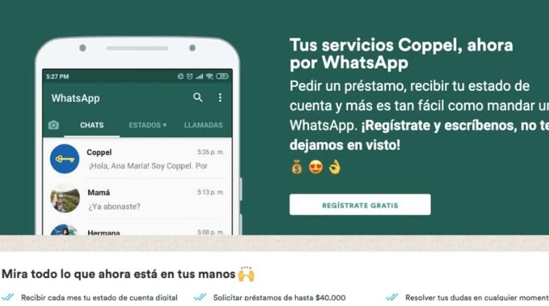 coppel whatsapp