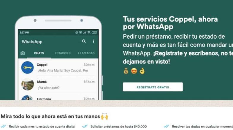 coppel whatsapp